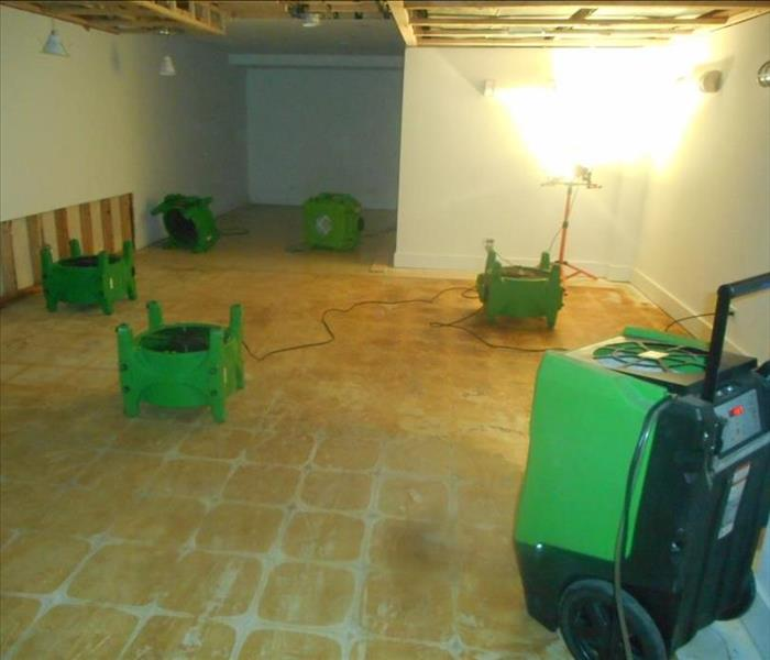 Water Damage from Sewer Backup After