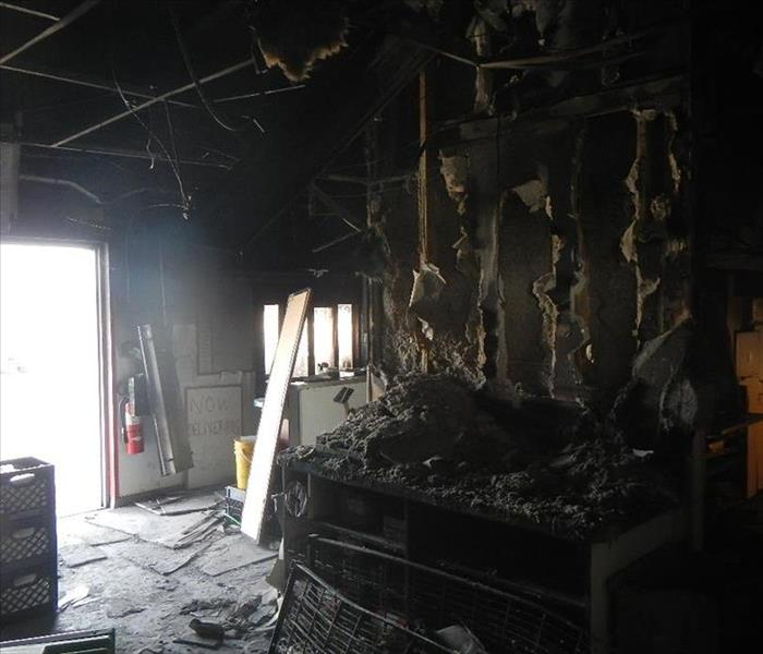 Restaurant Fire Damage Before