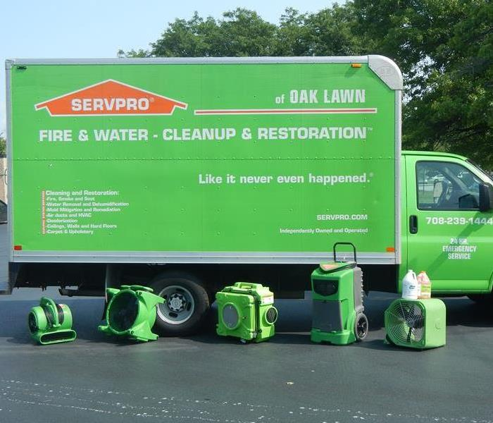 Why SERVPRO Our Equipment